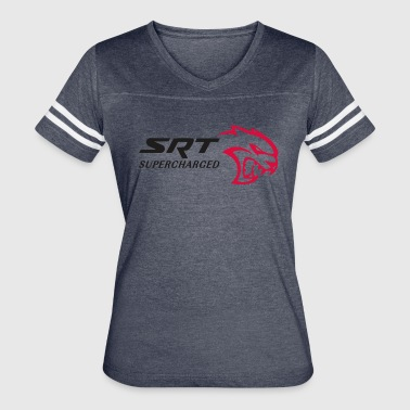 SRT HELLCAT SUPERCHARGED - Women's Vintage Sport T-Shirt