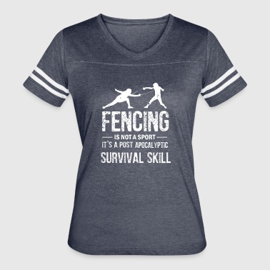 Funny Fencing - Women's Vintage Sport T-Shirt