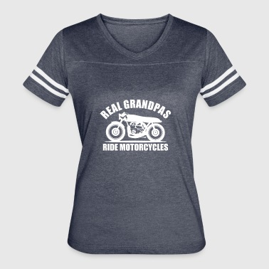 real grandpas ride motorcycles - Women's Vintage Sport T-Shirt