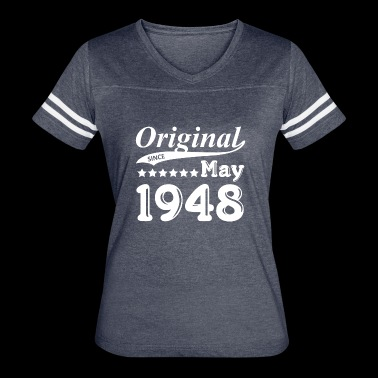Original Since May 1948 Gift - Women's Vintage Sport T-Shirt