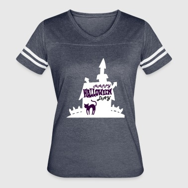 Happy Halloween Day - Women's Vintage Sport T-Shirt