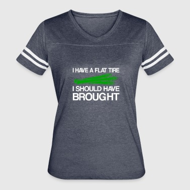 Asparagus I Have Flat Tire Have Brought - Women's Vintage Sport T-Shirt