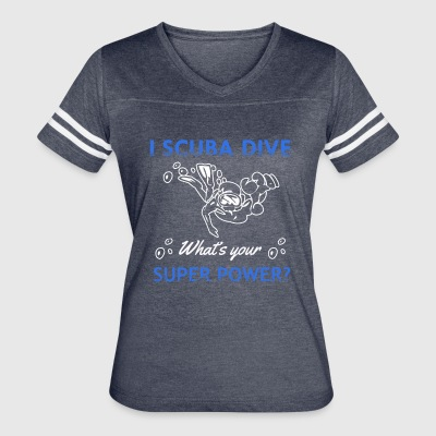 Cool gifts for Scuba Divers - Women's Vintage Sport T-Shirt