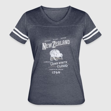 new zealand long white cloud - Women's Vintage Sport T-Shirt