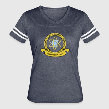 Midtown School of Science & Tachnology - Women's Vintage Sport T-Shirt