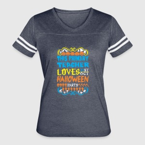 This Primary Teacher Loves 31st Oct Halloween - Women's Vintage Sport T-Shirt