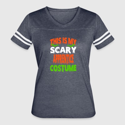 Apprentice - SCARY COSTUME HALLOWEEN SHIRT - Women's Vintage Sport T-Shirt