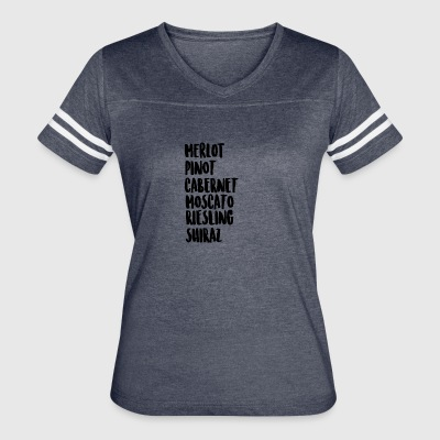 Wine On Wine - Women's Vintage Sport T-Shirt