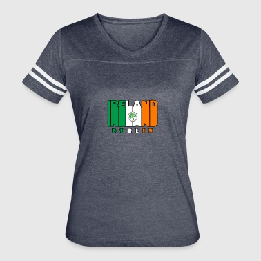 Ireland dublin - st patricks day - Women's Vintage Sport T-Shirt