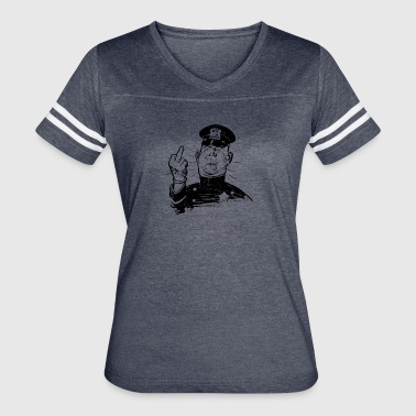 angry cop - Women's Vintage Sport T-Shirt