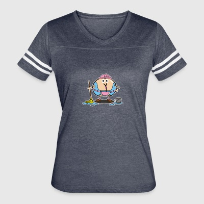 Assmex cleaning lady - Women's Vintage Sport T-Shirt