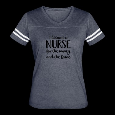 nurse - Women's Vintage Sport T-Shirt