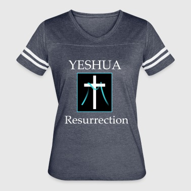Yeshua Resurrection - Women's Vintage Sport T-Shirt