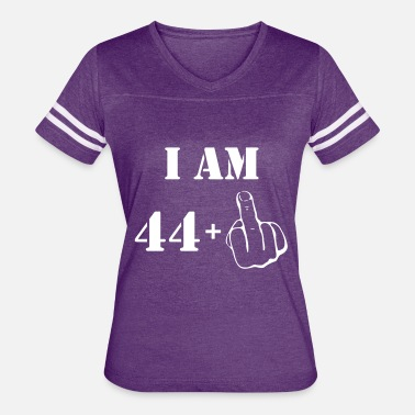 44 Years Old Birthday 45th Birthday T Shirt 44 + 1 Made in 1972 - Women's Vintage Sport T-Shirt