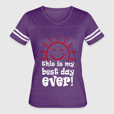 My best day - Women's Vintage Sport T-Shirt