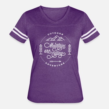 Mountains-are-calling - Women's Vintage Sport T-Shirt
