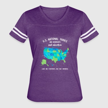National Park and Monuments T Shirts - Women's Vintage Sport T-Shirt