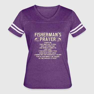 Fisherman's Prayer - Women's Vintage Sport T-Shirt
