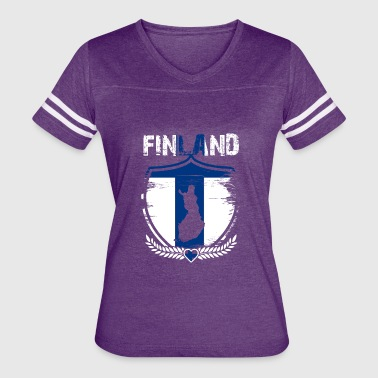 Country Shirt - Finland - Women's Vintage Sport T-Shirt