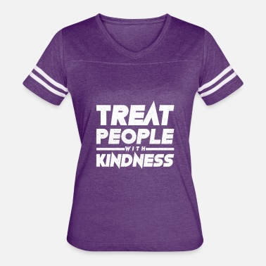 People Treat People With Kindness - Women's Vintage Sport T-Shirt