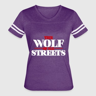 Wolf Of All Streets The Wolf Of All Streets - Women's Vintage Sport T-Shirt