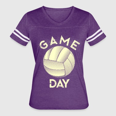 gameday volleyball white - Women's Vintage Sport T-Shirt