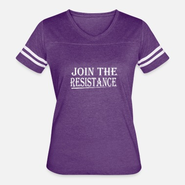 Join Join The Resistance - Women's Vintage Sport T-Shirt