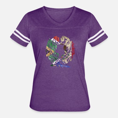 Love Africa AFRICA MEXICO WOLF LOVE - Women's Vintage Sport T-Shirt