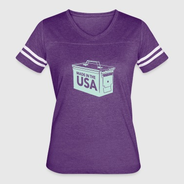 Ammo Can Made In The USA - Women's Vintage Sport T-Shirt