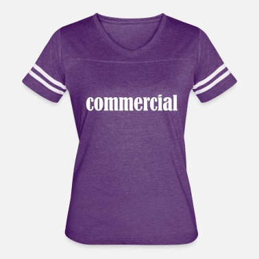 Commercial Designer Girl Commercial Ad Word - Women's Vintage Sport T-Shirt