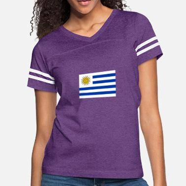 Rio De La Plata National Flag Of Uruguay - Women's Vintage Sport T-Shirt