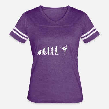 Yoga Studio EVOLUTION yoga meditation studio tanzen studio - Women's Vintage Sport T-Shirt