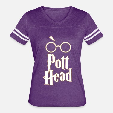 Potter Head Pott Head - Harry Potter Fan Shirt Design - Women's Vintage Sport T-Shirt