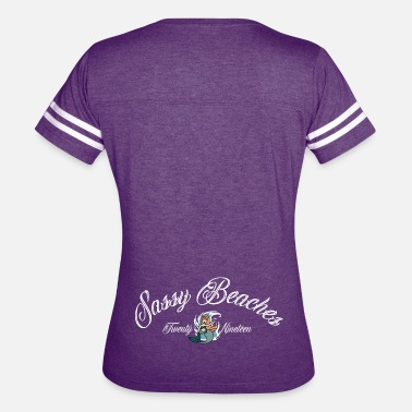 Tramp Stamp Sassy Beaches Tramp Stamp - Women's Vintage Sport T-Shirt