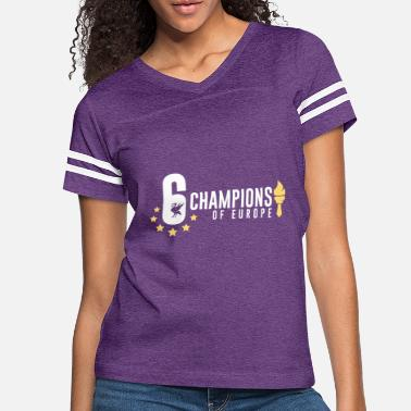 36dc2f3b LFC Liverpool Champions of Europe - Women's Vintage Sport T-Shirt