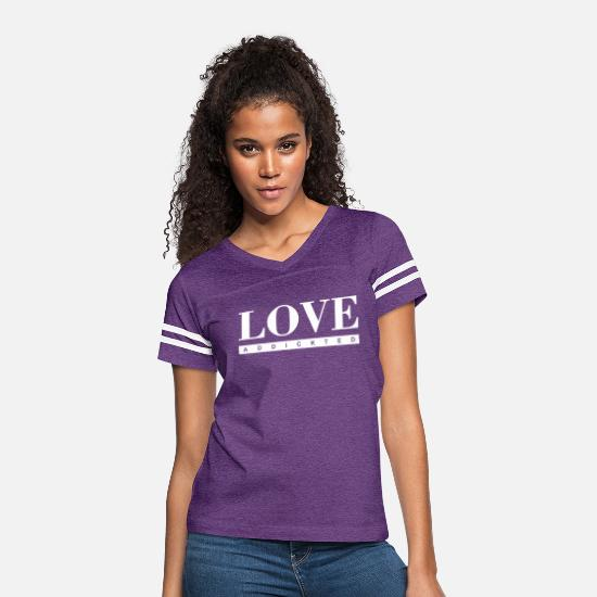 Love T-Shirts - LA - Women's Vintage Sport T-Shirt vintage purple/white