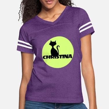 First Name Christina first name - Women's Vintage Sport T-Shirt