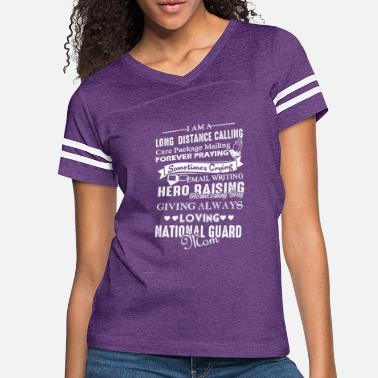 Army Love National Guard Mom Shirt - Women's Vintage Sport T-Shirt