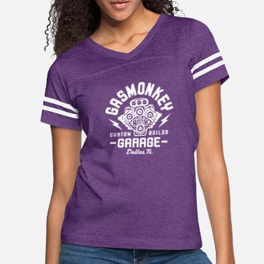 Gas GAS MONKEY GARAGE - Women's Vintage Sport T-Shirt