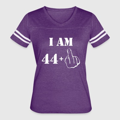 45th Birthday T Shirt 44 + 1 Made in 1972 - Women's Vintage Sport T-Shirt