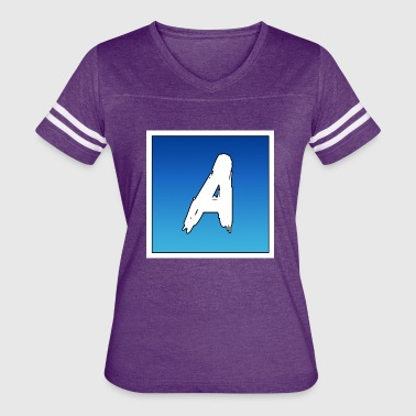 The Letter A - Women's Vintage Sport T-Shirt