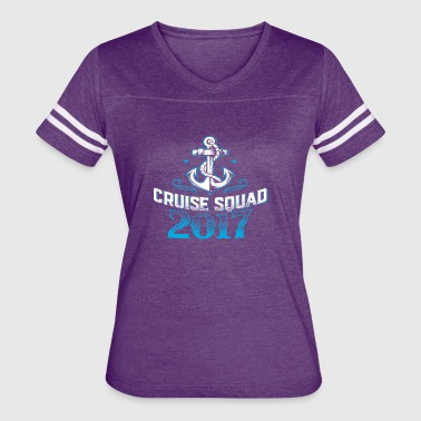 Cruise Squad Shirts Funny Family Cruise 2017 Tee - Women's Vintage Sport T-Shirt
