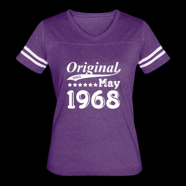 Original Since May 1968 Gift - Women's Vintage Sport T-Shirt