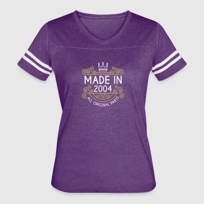 Made In 2004 All Original Parts - Women's Vintage Sport T-Shirt
