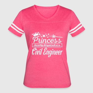 Civil Engineer - Women's Vintage Sport T-Shirt