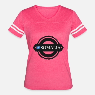 Somalia Flag somalia with flags - Women's Vintage Sport T-Shirt