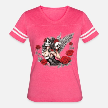 Boobs Mardi Gras Mardi Gras Angel - Women's Vintage Sport T-Shirt