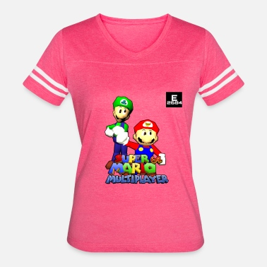 We Are The Mods Super Mario 64 Multiplayer | Epicness & Arcani - Women's Vintage Sport T-Shirt