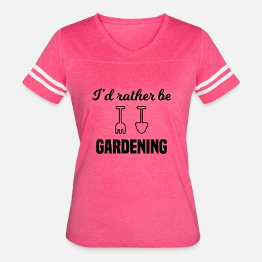 Gazebo I'd Rather Be Gardening - Women's Vintage Sport T-Shirt