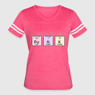 Potassium Element Punk - Women's Vintage Sport T-Shirt